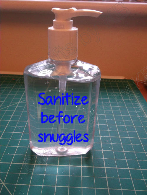 Sanitize for Snuggles
