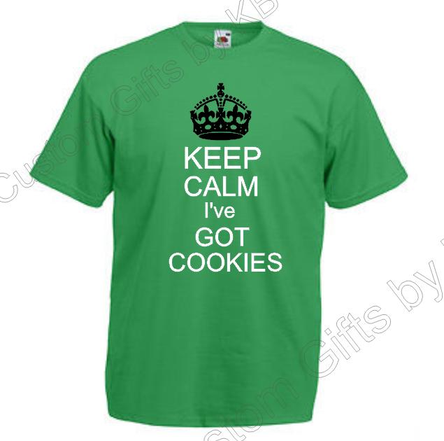 Keep Calm cookies T Shirt