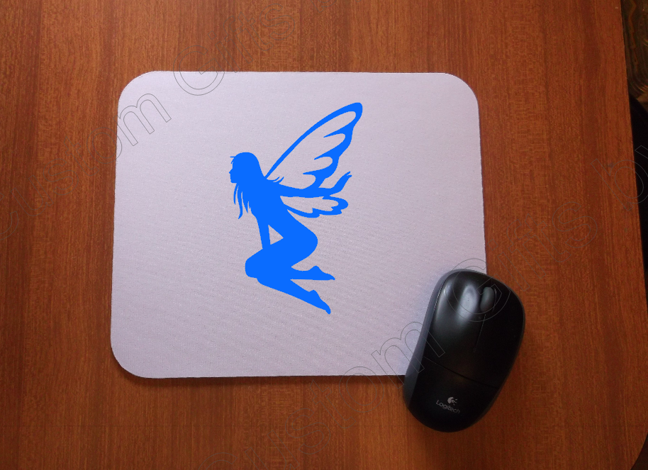 Sitting Fairy Mouse Pad