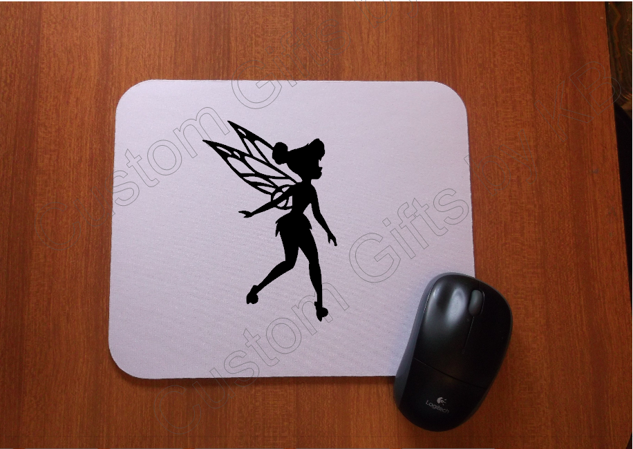 Custom Tinkerbell Mouse Pad