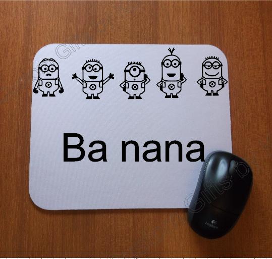 Custom Designed Minion Mouse Pad