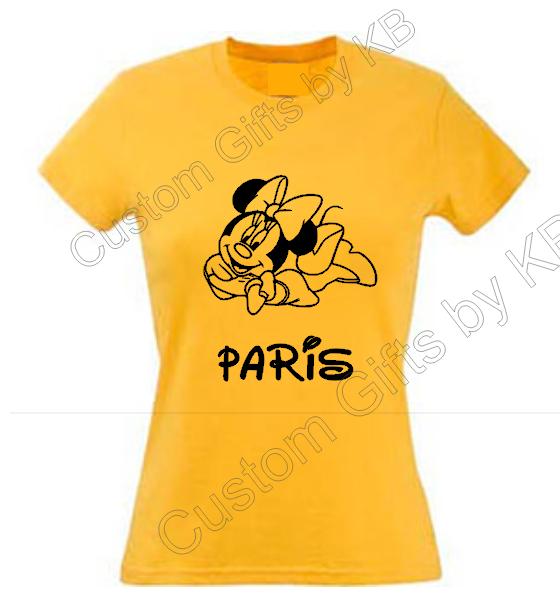 Minnie Mouse Custom TShirt