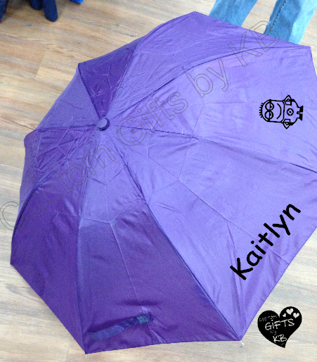 Personalized Umbrella with name and graphic