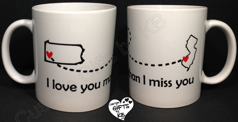 I love you more than I miss you Mug