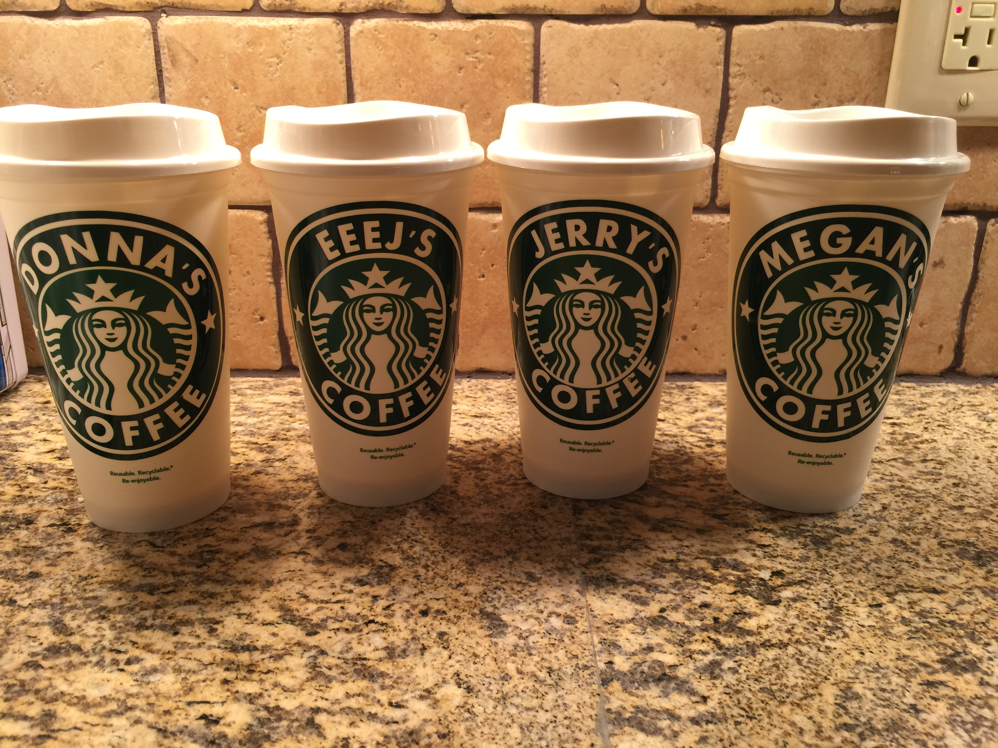 Starbucks Personalized travel mug