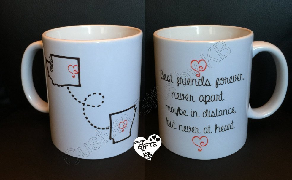BFF Mugs Best Friends Forever Mug