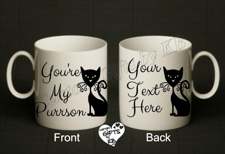 You're My Purrson Mug