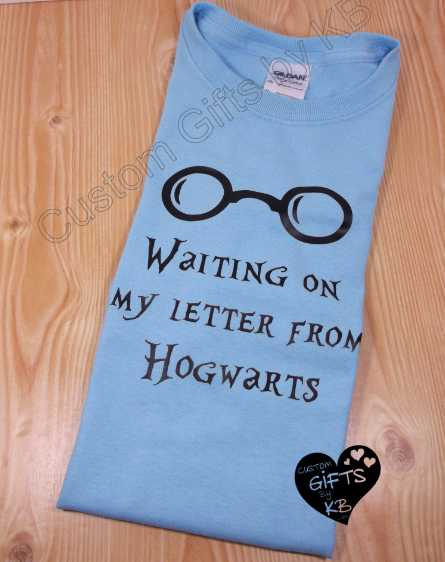 Harry Potter Waiting on my letter from Hogwarts T Shirt